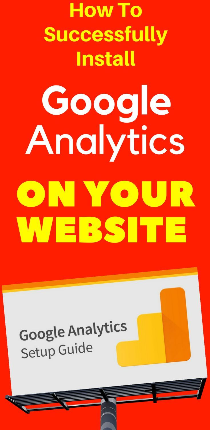 How To Successfully Install Google Analytics On Your Website  Why every website owner needs Google Analytics Do you have a #blog? Do you have a static #website? If the answer is yes, then you need #Google #Analytics. Learn more...