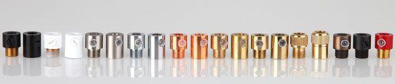 Alle E27 und E14 Lampenfassungen benötigen aus Sicherheitsgründen eine Zugentlastung. Kaufen Sie jetzt im Textilkabel Fachhandel Onlineshop Felix Schmieder