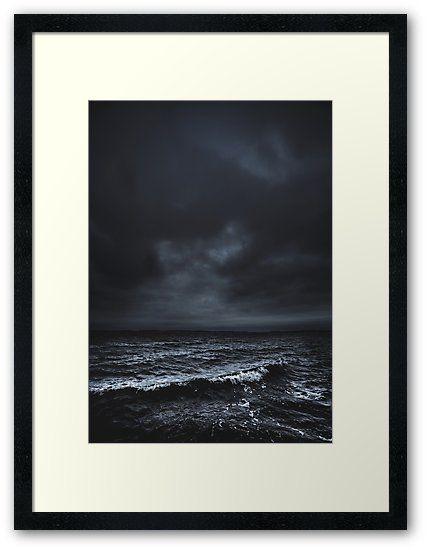 'I´m fading' Framed Print by HappyMelvin. #ocean #sea #nature #photography #wanderlust #framedprints #prints #wallart
