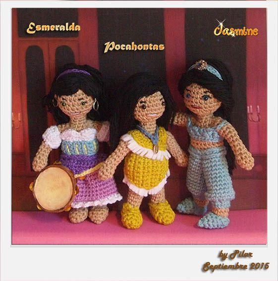 Amigurumi Princesas Disney : Mas de 1000 imagenes sobre Mis Amigurumis varios en Pinterest