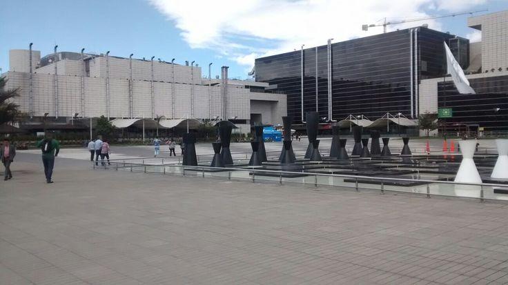 Centro comercial Gran Estación, en la Avenida El Dorado en Bogotá.