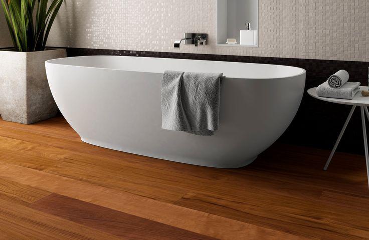 #parquet Teak Trust, Dream 160 collection by Woodco. #floor #teak #bathroom #interior