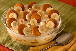 Southern Banana Pudding with Nilla Wafers - love it.  ;-)