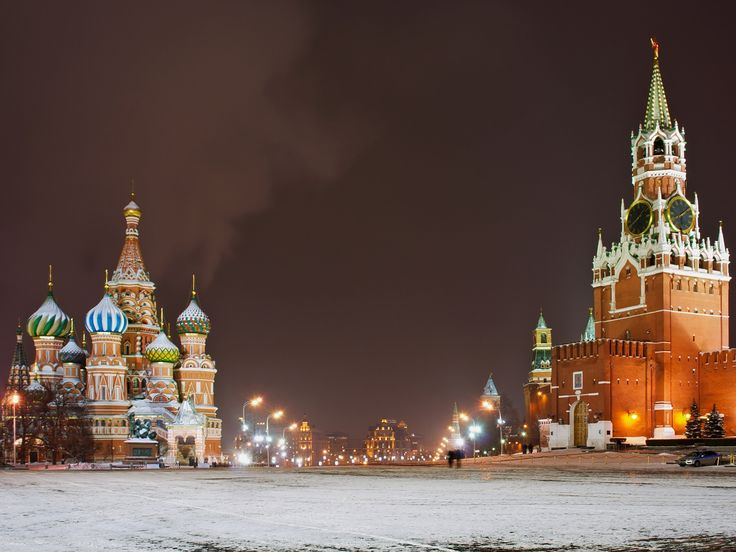 moscow/Москва/モスクワ/russia/Россия/ロシア/Red Square/赤の広場/night/