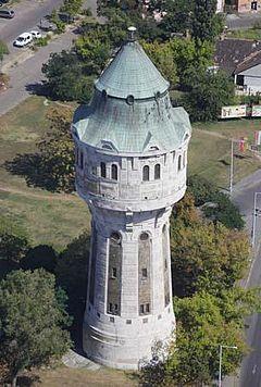 Újpest Water Tower, Budapest