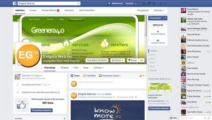 2 Cara Menampilkan Facebook Fanpage di Web Joomla Anda