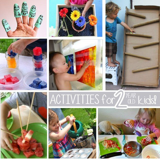 Activities for ACTIVE 2 year olds
