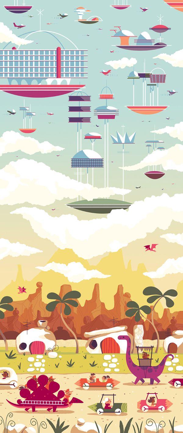 ANDREW KOLB cartoon illustrations vector Vector art artwork illustration