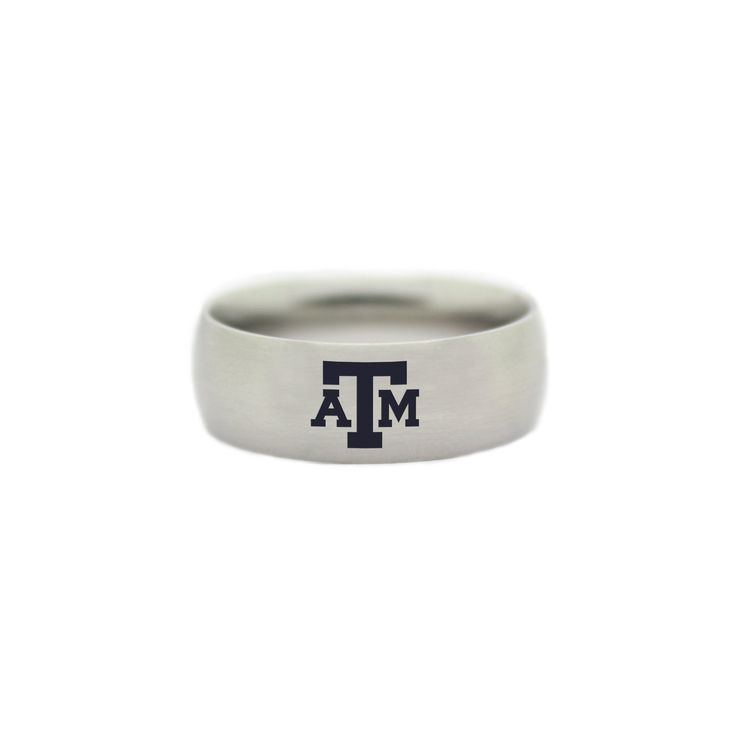 Texas A&M Aggies College Wedding Band - University of Texas A&M Jewelry