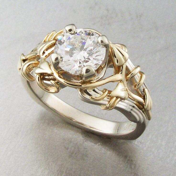 20 best Custom Engagement Rings images on Pinterest Custom