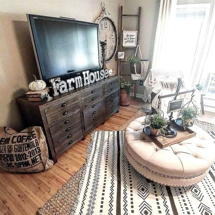 32 The Best Minimalist Farmhouse TV Stand Ideas For Your ...