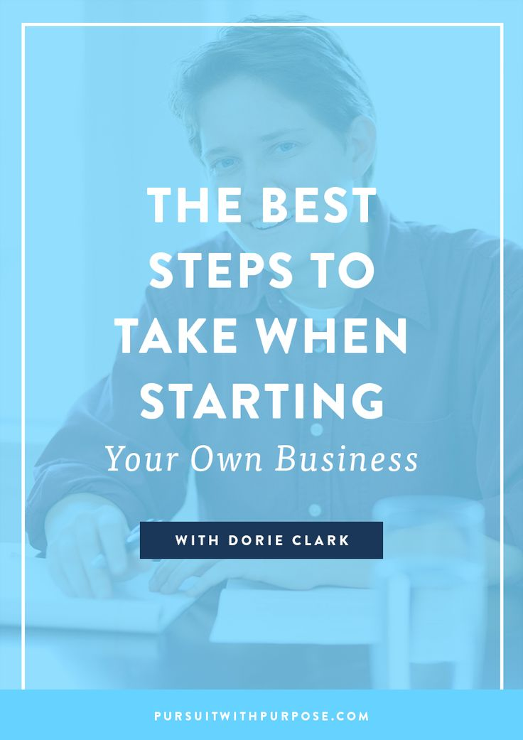 Want to start a business? Here are the best steps to take when starting your OWN business. How To Start A Business, Personal Branding, Entrepreneur Inspiration, Email Marketing