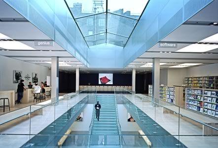 Bohlin Cywinski Jackson - Apple Store, SoHo