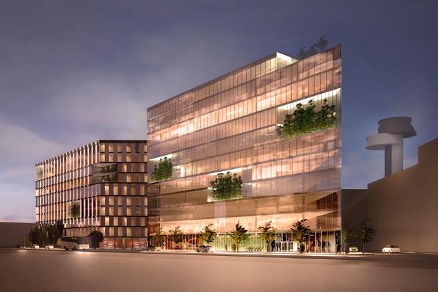 New office building for Svedavia. Arlanda, Sweden