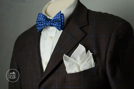 Linen pocket square with hand rolled edges 15 formal by ASDFstyle