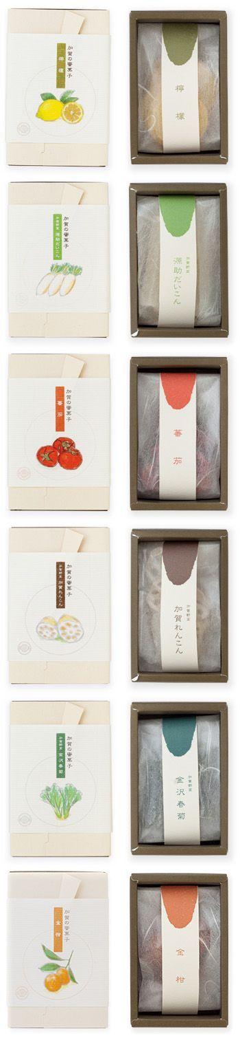 Mitsugashi NAKAGAWA #packaging