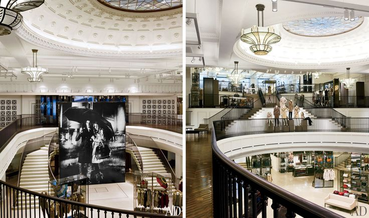 Burberry's London Flagship Combines Craftsmanship and Technology : Architectural Digest