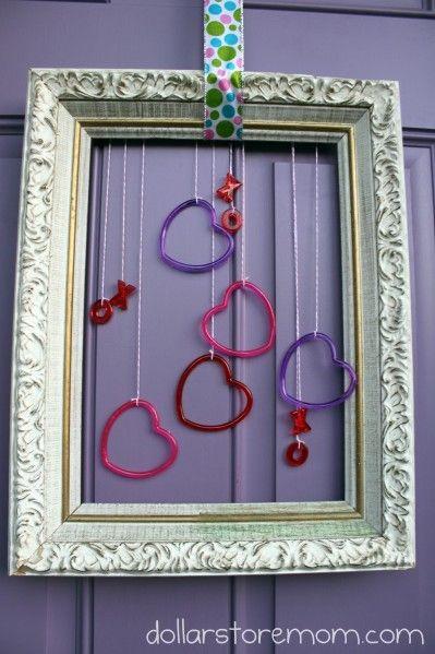 Quick & Cute Dollar Store Valentine Door Decor