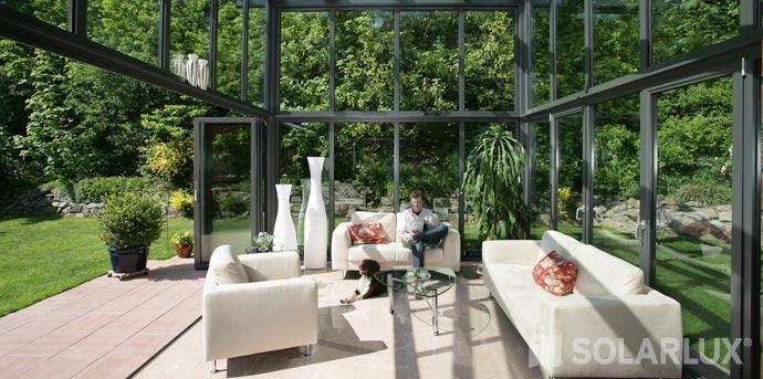Solarlux - Jardines de invierno - Cristal Ideas Casa de Extensión - diseños, planificación, fotos - SDL Akzent más - - via http://bit.ly/epinner