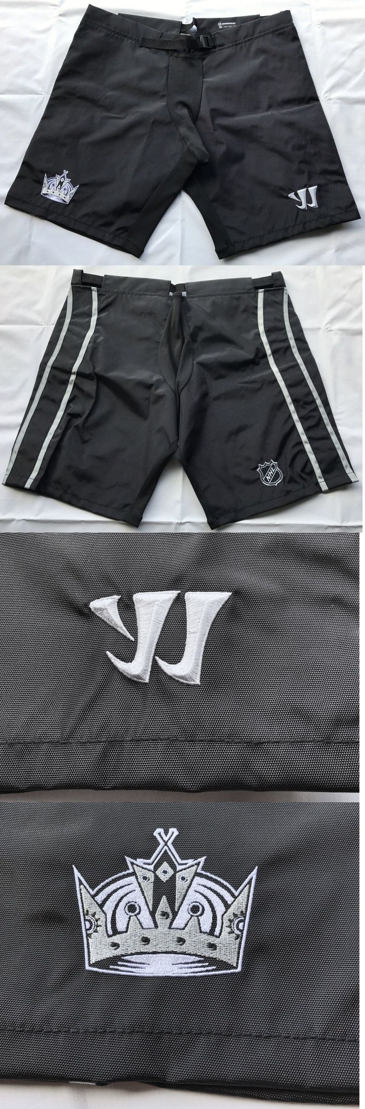 Pads and Guards 20856: New Pro Stock Los Angeles Kings Warrior Dynasty Hockey Pant Shell - Large -> BUY IT NOW ONLY: $80 on eBay!