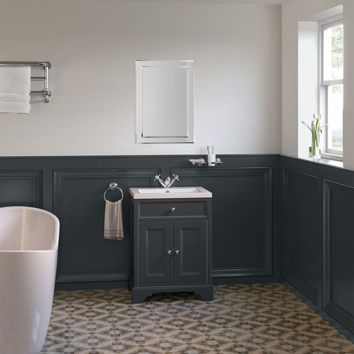 23++ Dark grey bathroom sink unit best