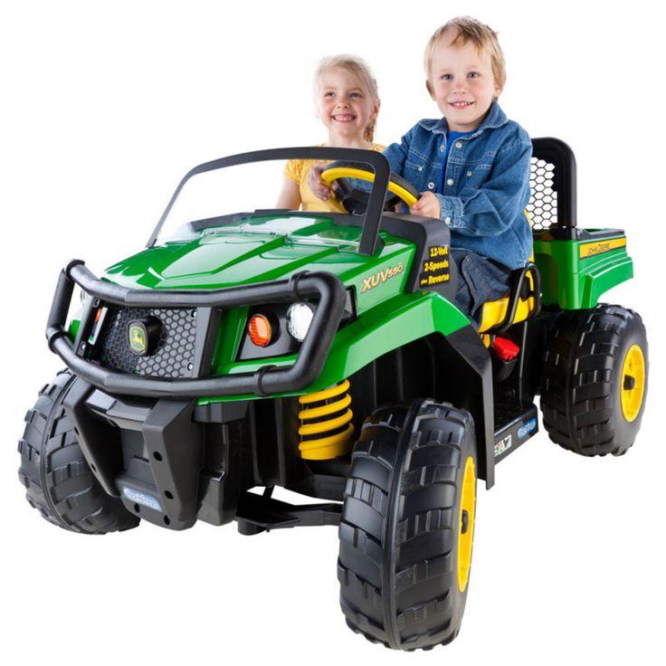 Peg Perego John Deere Gator XUV Battery Powered Riding Toy - IGOD0063