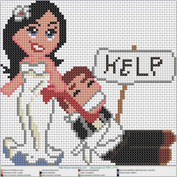 casados EN PUNTO DE CRUZ, cross stitch pattern
