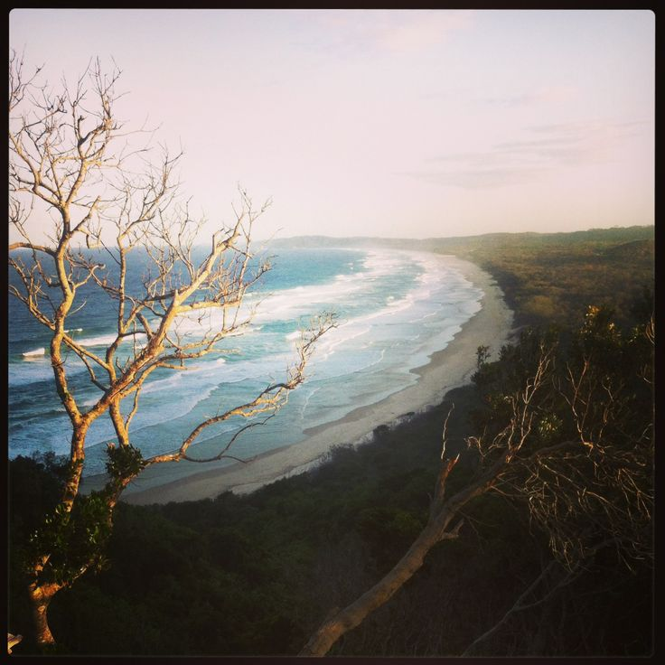 View en route to Cape Byron Lighthouse