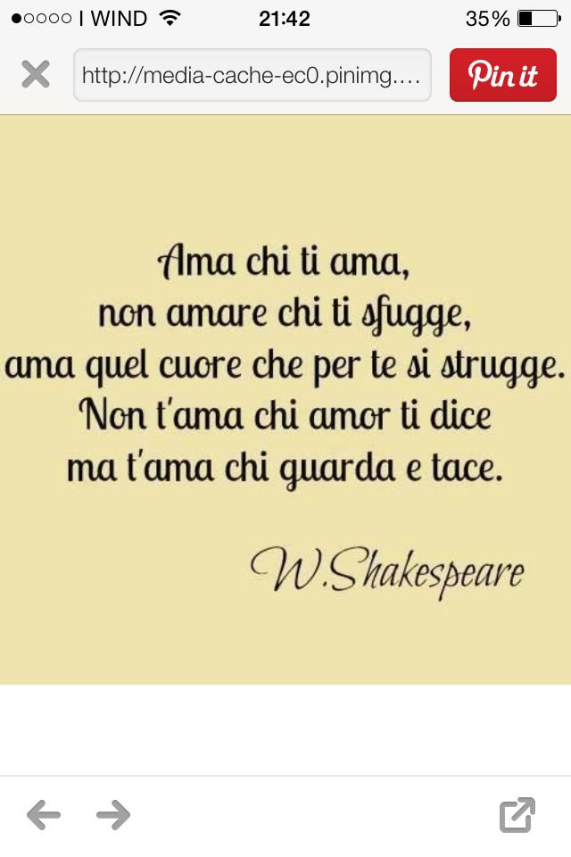 Parole e ispirazione  - William Shakespeare