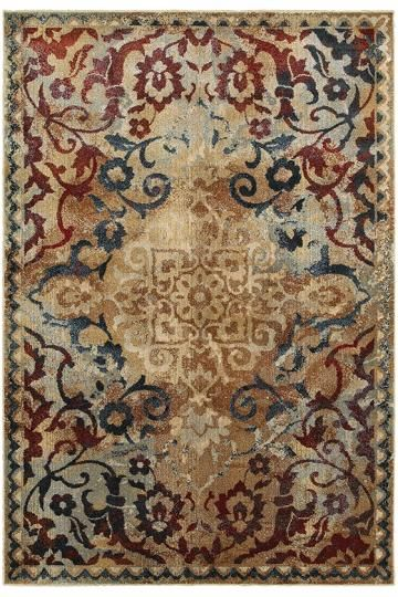 Carly Area Rug - Traditional Rugs - Border Rugs - Machine-made Rugs - Synthetic Rugs - Rugs Made In Egypt | HomeDecorators.com