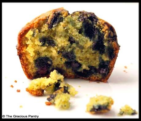 Clean Eating Blueberry Corn MuffinsAlmond Milk, 180 Cal, Blueberries Cornmeal, Eating Blueberry Corn, Artificial Sweetner, Blueberries Muffins, Cleaning Eating, Cornmeal Muffins, Corn Muffins