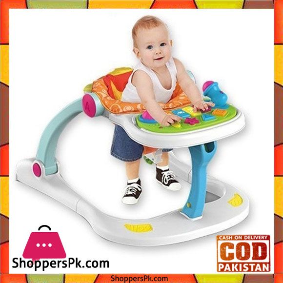Huanger 4 In 1 Multi Functional Baby Entertainment Musical Play To
