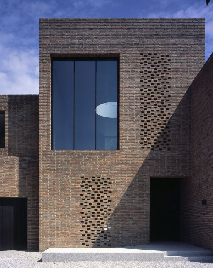 25 best ideas about brick architecture on pinterest for Brick and stone elevations