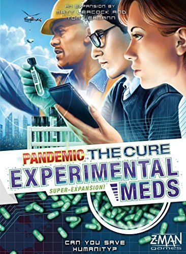 Pandemic The Cure Experimental Meds Super-Expansion Board...