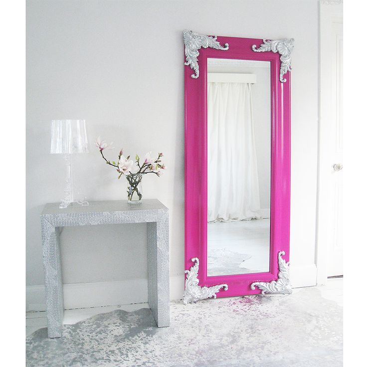 Passion Pink Full Length Mirror by The French Bedroom Company