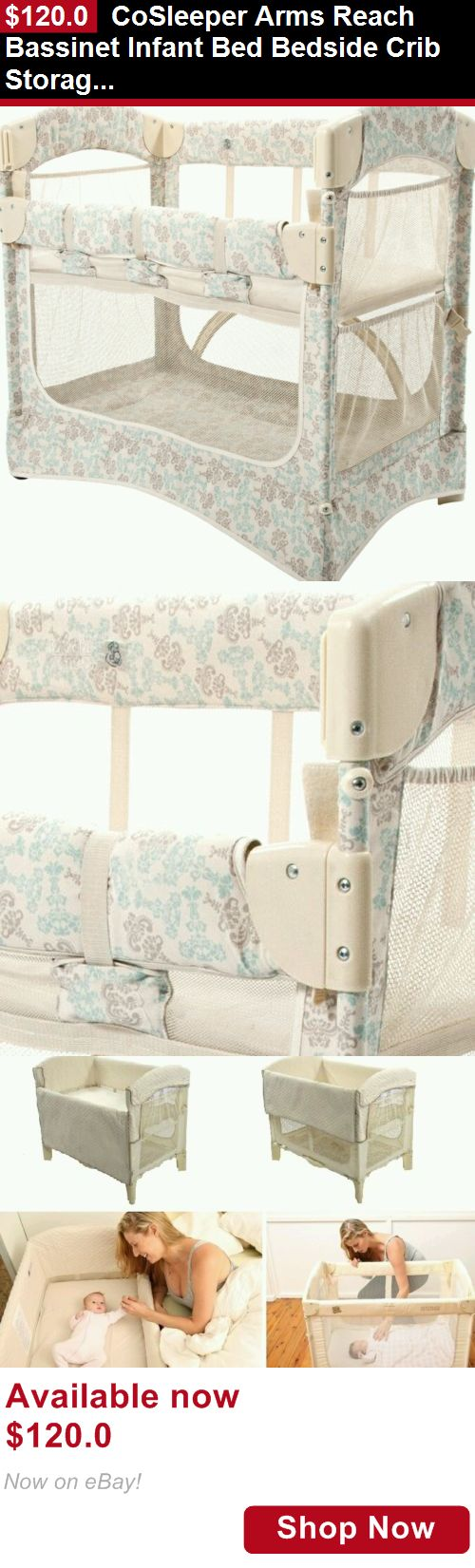 Special enclosed crib for premature babies - Baby Co Sleepers Cosleeper Arms Reach Bassinet Infant Bed Bedside Crib Storage With Design