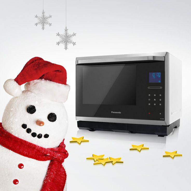 """Egal, ob Du von """"White Christmas"""" träumst, von einer Mikrowelle musst Du nie wieder träumen. Sie wartet hinter Tür 9."""