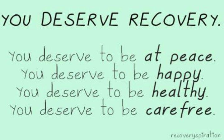 you deserve recovery addiction and recovery pinterest