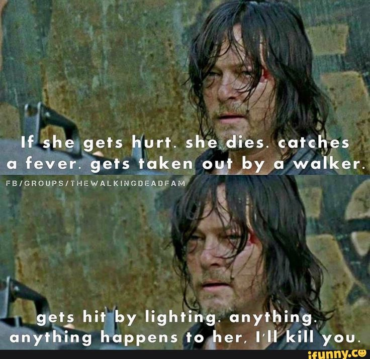 Daryl and Carol  But seriously what was with Richard?? Like no Carol is the Queen