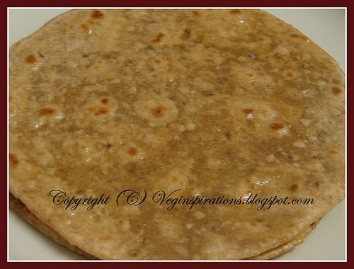 Bread With Oat Flour And Method To Make Oat Barley Wheat Roti