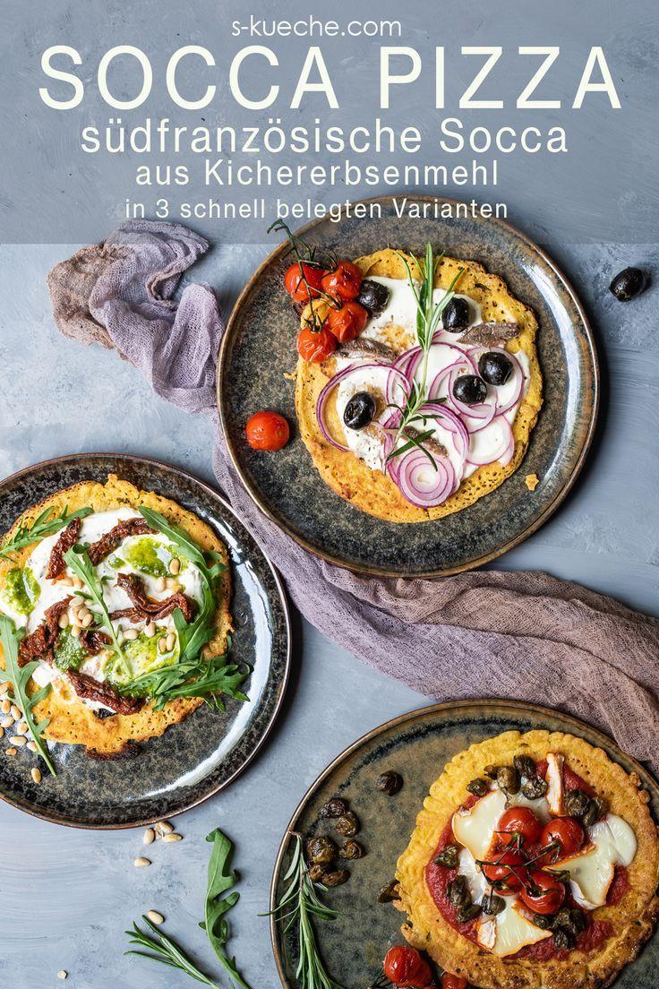 Socca Pizza – Streetfood à la française zu Languedoc