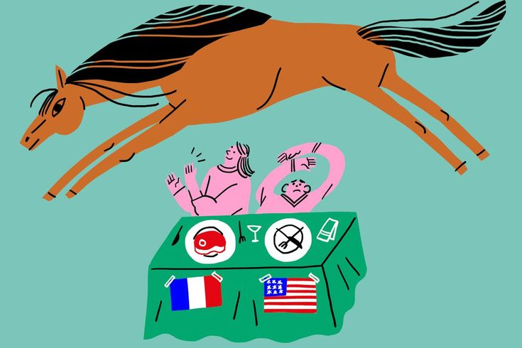 """While it may not be to those protesters' tastes, #eating #horse is quite common, and has historic precedence in Europe and Asia"": https://www.eater.com/2017/12/15/16741848/horse-meat-restaurants-america-diners-canada?utm_content=bufferd8116&utm_medium=social&utm_source=pinterest.com&utm_campaign=buffer @Eater #horsemeat #society #USA"