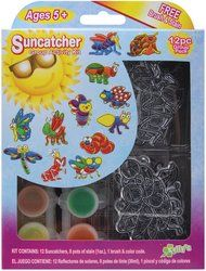 Suncatcher Group Activity Kit, Insects 12/Pkg by The New Image Group. $8.44. Brand New Item / Unopened Product. SGP-13. The New Image Group. 037015002132. KELLY'S CRAFTS-Kelly's Kidz Sparkle Suncatcher Activity Kit: Group Pack. Suncatchers are a great way to decorate a room; add color to an otherwise colorless window and much more. This package contains five sun-catchers; eight pots of glittering window stain (colors vary by design); suction cup; three brushes and col...