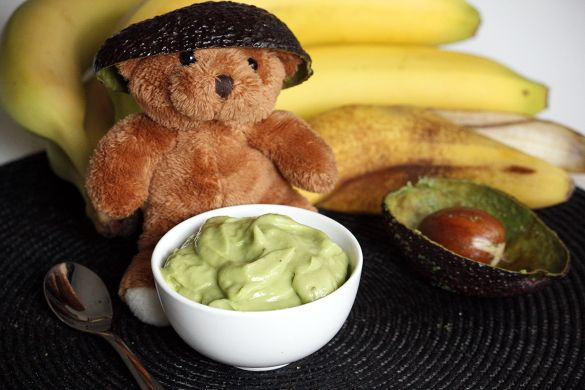 Avokado- & bananvisp | Hälsosamt barnmat