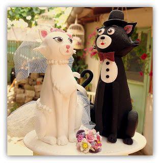 Figurina tort pisici