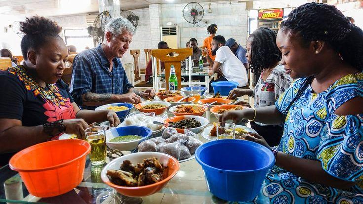 10/15/2017 NIGERIA: Anthony Bourdain: Parts Unknown Season 10 Episode 3: Lagos, Nigeria.