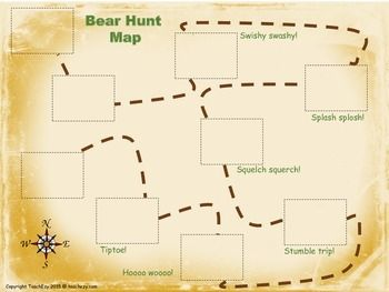 WE'RE GOING ON A BEAR HUNT AFTER READING ACTIVITY - Freebie...higher level sequencing