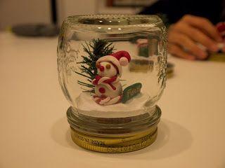 Ghi-gò creazioni archi-alternative: Si avvicina il Natale....segnaposto palla di vetro...