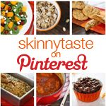 Skinny taste- a great healthy family friendly blog filled with amazing recipes to suit everyone