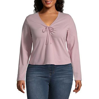 bec4a317e69 Juniors Plus Size Tops for Juniors - JCPenney